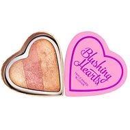 Makeup Revolution I Love Makeup Hearts Blusher Peachy Keen Heart - Lícenka