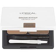 L'ORÉAL Brow Artist Genius Kit Medium to Dark  3,5 g - Kozmetická paletka