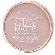 Púder RIMMEL LONDON Stay Matte 14 g – Odtieň: 001 Transparent - Pudr