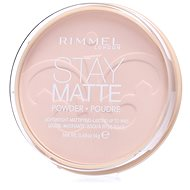 RIMMEL LONDON Stay Matte 14 g – Odtieň: 003 Peach Glow - Púder
