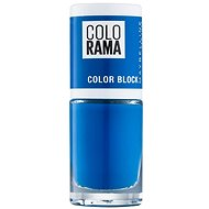 MAYBELLINE NEW YORK Colorama 487 Blue 7 ml - Lak na nechty