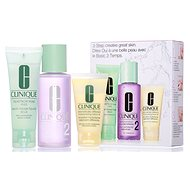 CLINIQUE 3-Step Skin Care Type 2 - Dry to Combination Skin - Gift Set