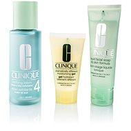 CLINIQUE 3 Step Skin Care Typ 4 - mastná pleť - Súprava výrobkov na čistenie pleti