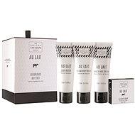 SCOTTISH FINE SOAPS Au lait luxurious gift set - Darčeková súprava kozmetická