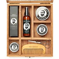 PERCY NOBLEMAN Luxusná darčeková súprava starostlivosť o bradu a fúzy - Darčeková súprava