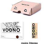 VOONO Dark Brown 500g + Amla Sada - Cosmetic Gift Set