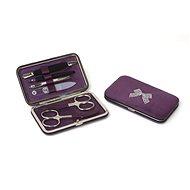 Sada na manikúru Premium Line s kamienkami Swarovski PL 125 Purple - Manikúra