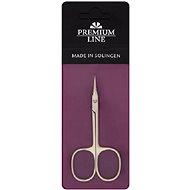 DUKAS Premium Line Nožničky na kožu zakrivené 9 cm PL421 - Nožnice