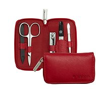 PFEILRING SOLINGEN Luxury Manicure Set 95120702, Red, Made in Solingen