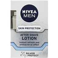 NIVEA After Shave Lotion Silver Protect 100 ml - Voda po holení