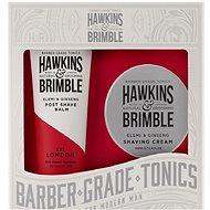 Hawkins & Brimble Darčeková súprava (Krém na holenie 100 ml + Balzam po holení 125 ml)