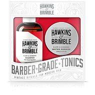 Hawkins & Brimble Darčeková súprava (Šampón 250ml + Pomáda na vlasy 100ml) - Pánska súprava kozmetiky
