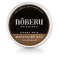 NOBERU Sandalwood Mustache Wax Strong Hold 30 ml - Vosk na fúzy