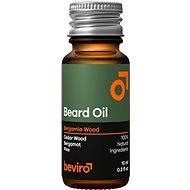 BEVIRO Bergamia Wood 10 ml - Olej na fúzy