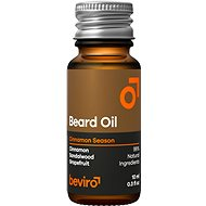 BEVIRO Cinnamon Season 10 ml - Olej na fúzy