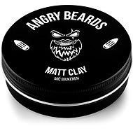 ANGRY BEARDS Mič Bjukenen Matt Clay 120 g - Íl na vlasy