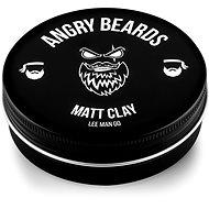 ANGRY BEARDS Lee Man Go Matt Clay 120 g - Íl na vlasy