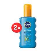 NIVEA SUN Protect&Bronze Spray SPF 30 2 × 200 ml
