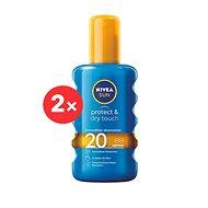 NIVEA SUN Protect&Refresh Spray SPF 20 2 × 200 ml