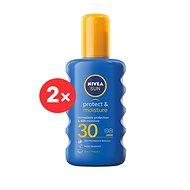 NIVEA SUN Protect & Moisture Spray SPF 30 2 × 200 ml