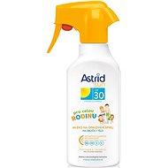 Mlieko na opaľovanie ASTRID SUN Rodinné mlieko na opaľovanie spray SPF 30 300 ml