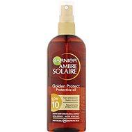 GARNIER Ambre Solaire Golden Protect Olej na opaľovanie SPF 10 150 ml - Olej na opaľovanie