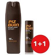 PIZ BUIN Hydration Spray Ultra Light SPF50 + Lipstick Aloe SPF30 - Kozmetická sada