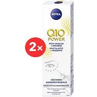 NIVEA Q10 Power Eye Cream 2 × 15ml