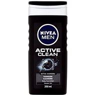 NIVEA MEN Active Clean 250 ml - Pánsky sprchový gél