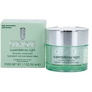 CLINIQUE Superdefense Night Recovery Moisturizer Combination To Oily Skin 50 ml - Pleťový krém