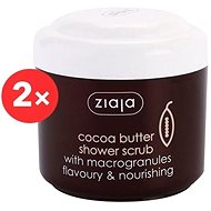 ZIAJA Cocoa Butter Shower Peeling 2 × 200 ml - Scrub