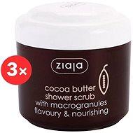 ZIAJA Cocoa Butter Shower Scrub 3 × 200ml - Scrub