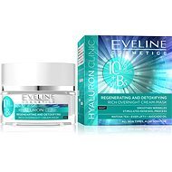 EVELINE Cosmetics Hyaluron Clinic Rich Overnight Cream-Mask 50 ml - Pleťová maska