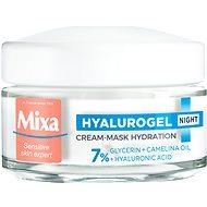 MIXA Hyalurogel Night Hydrating Cream-Mask 50 ml - Pleťový krém