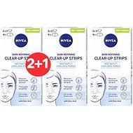 NIVEA Skin Refining Clear-Up Strips 6 ks 2 + 1