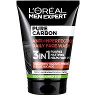 ĽORÉAL PARIS Men Expert Pure Carbon 3in1 Face Wash, 100ml - Cleansing Gel