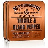 SCOTTISH FINE SOAPS Pánske mydlo Čierne korenie a pestrec 100 g - Mydlo na bradu