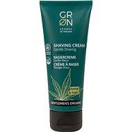 GRoN BIO Gentlemen's Organic Shaving Cream Hemp & Hops 75 ml - Krém na holenie