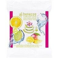 BENECOS Happy Cleansing Wipes Aloe Vera, 25 ks - Odličovacie obrúsky