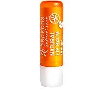 BENECOS BIO Natural Lip Balm Orange 4,8 g - Balzam na pery