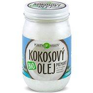 PURITY VISION Fair Trade Kokosový olej panenský BIO 420 ml - Olej