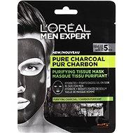 ĽORÉAL PARIS Men Expert Pure Charcoal Tissue Mask, 30g - Face Mask