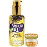 PURITY VISION Bio Levanduľový olej 100 ml + Bio Nechtíkové maslo 20 ml - Kozmetická sada