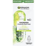 GARNIER Skin Naturals Ampoule Sheet Mask Niacinamide and Kale Extract 15 g - Pleťová maska