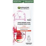 GARNIER Skin Naturals Ampoule Sheet Mask Hyaluronic Acid and Watermelon Extract 15 g - Pleťová maska
