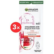 GARNIER Skin Naturals Ampoule Sheet Mask Hyaluronic Acid and Watermelon Extract 3 × 15 g