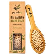 PANDOO Bambusová kefa na vlasy s prírodnými štetinami - Kefa na vlasy