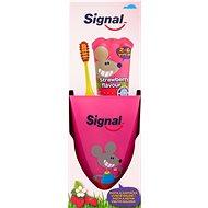 SIGNAL Strawberry detská zubná súprava - Sada