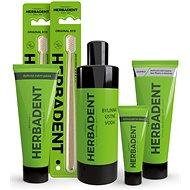 HERBADENT – balíček pre zdravé ústa MAXI - Sada ústnej hygieny