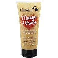 I LOVE… Exfoliating Shower Smoothie Mango & Papaya Exfoliating 200 ml - Sprchový peeling